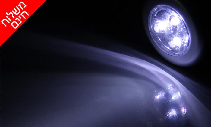 4 12 מנורות לד MiniMaxx המתאימות גם לסוכה - משלוח חינם