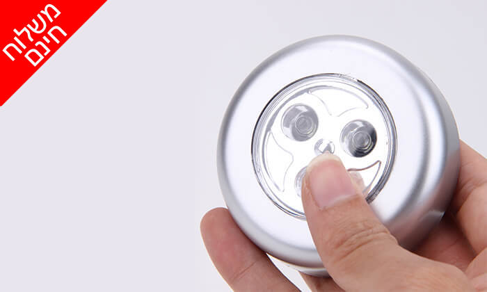5 12 מנורות לד MiniMaxx המתאימות גם לסוכה - משלוח חינם