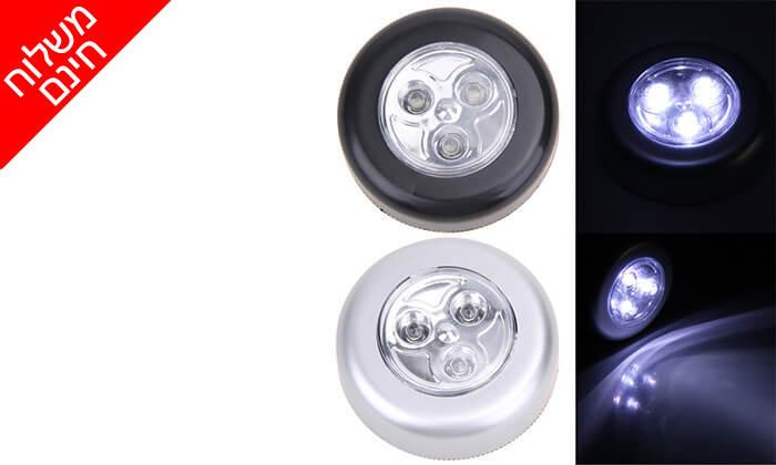 6 12 מנורות לד MiniMaxx המתאימות גם לסוכה - משלוח חינם