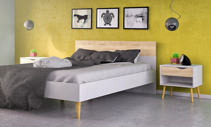 3 מיטה זוגית ו-2 שידות תואמות HOME DECOR