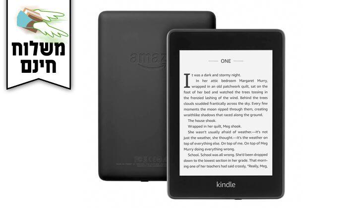 4 קורא ספרים אלקטרוני Amazon Kindle Paperwhite- משלוח חינם