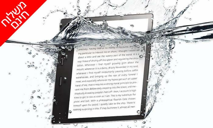 4 קורא ספרים אלקטרוני Amazon Kindle Oasis - משלוח חינם