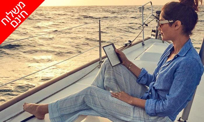 3 קורא ספרים אלקטרוני Amazon Kindle Oasis - משלוח חינם