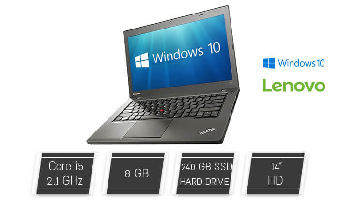 2 מחשב נייד לנובו LENOVO עם מסך 14 אינץ'