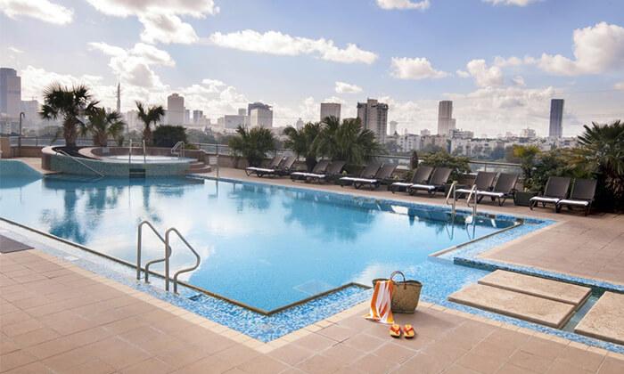 10 יום פינוק בספא סיטי טאוור - מלון לאונרדו, רמת גן