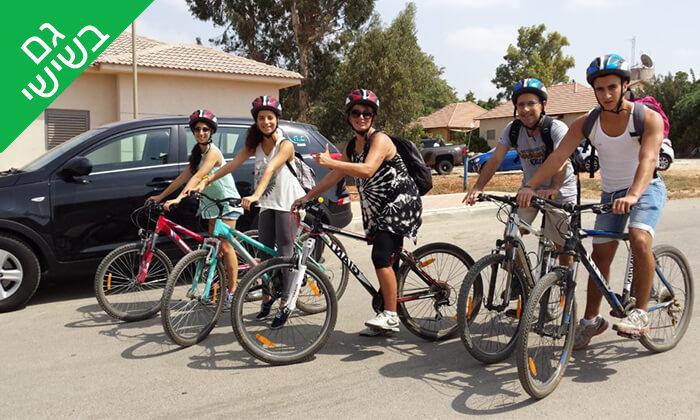 4 השכרת אופניים במרכז עידן אופן, קיבוץ רבדים