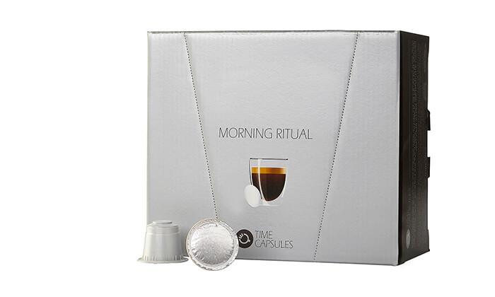 """6 מארז קפסולות קפה Time Capsules במבחר טעמים, כולל כוסות חד""""פ"""