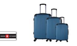 סט 3 מזוודות SWISS קשיחות