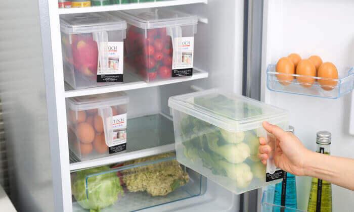 סט 8 קופסאות לאחסון מזון