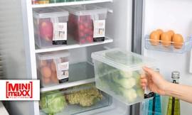 סט 4 קופסאות לאחסון מזון