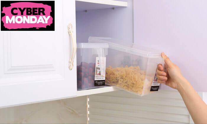 5 סט 8 קופסאות לאחסון מזון