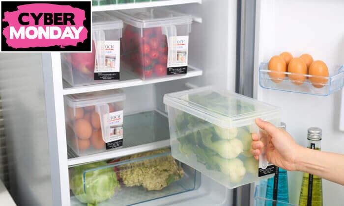 6 סט 8 קופסאות לאחסון מזון
