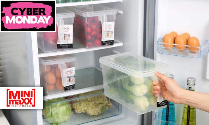 2 סט 8 קופסאות לאחסון מזון