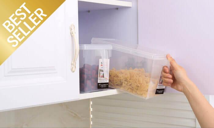 5 סט 4/8 קופסאות לאחסון מזון