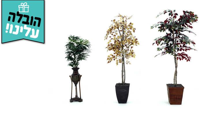 10 שמרת הזורע: עץ מלאכותי בעציץ - הובלה חינם