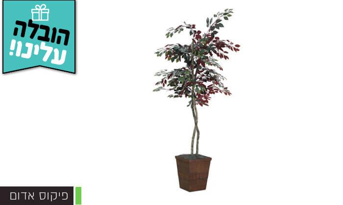 7 שמרת הזורע: עץ מלאכותי בעציץ - הובלה חינם