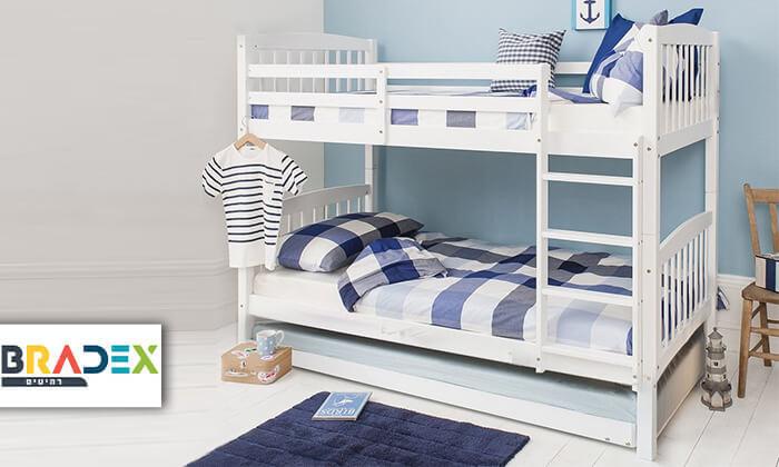 2 מיטת קומותיים דגם DIANA