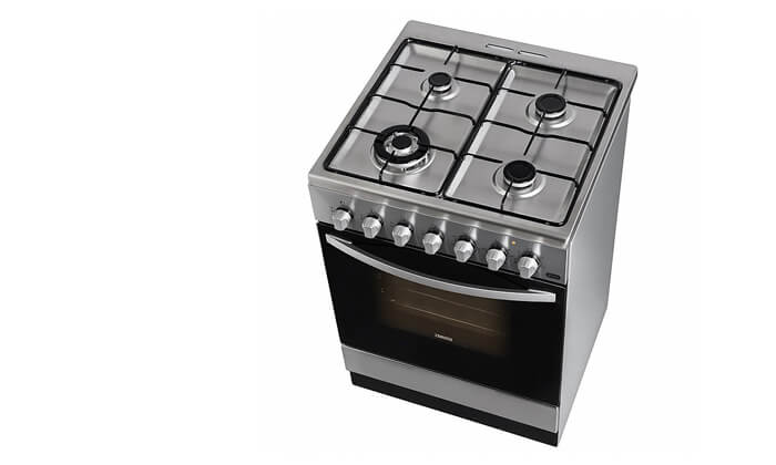 3 תנור משולב גז כיריים Zanussi