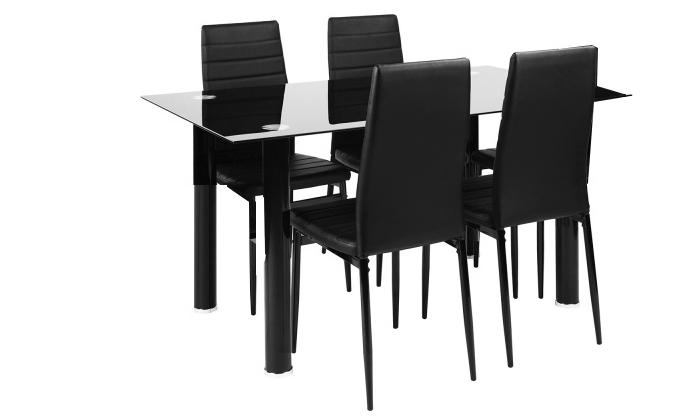 8 פינת אוכל עם 4 כיסאותHomax