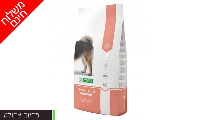"""7 שק מזון לכלבים 12 ק""""ג Nature's Protection - משלוח חינם"""