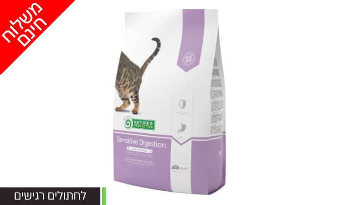 """4 שקמזון יבש לחתולים 7 ק""""ג - משלוח חינם"""