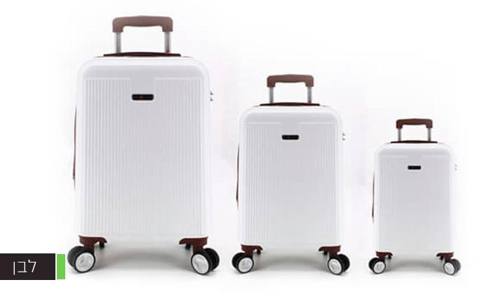 3 סט 3מזוודותקשיחות SWISS PLAZA