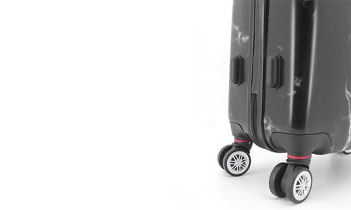7 סט 3מזוודותקשיחות SWISS PARIS