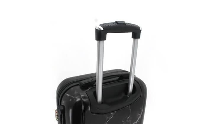8 סט 3מזוודותקשיחות SWISS PARIS