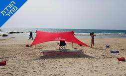 ציליית 3X3 מטר לים Sea & Sun