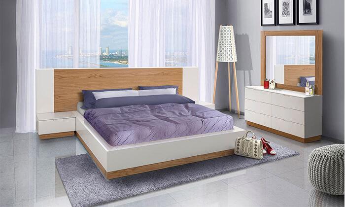7 חדר שינה מעץ מלא LEONARDO
