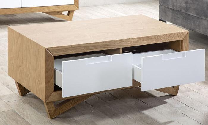 5 שולחן ומזנון סלון LEONARDO