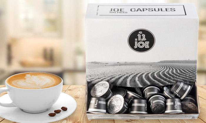 2 מארז 100 / 200 / 300 קפסולות קפה JOE