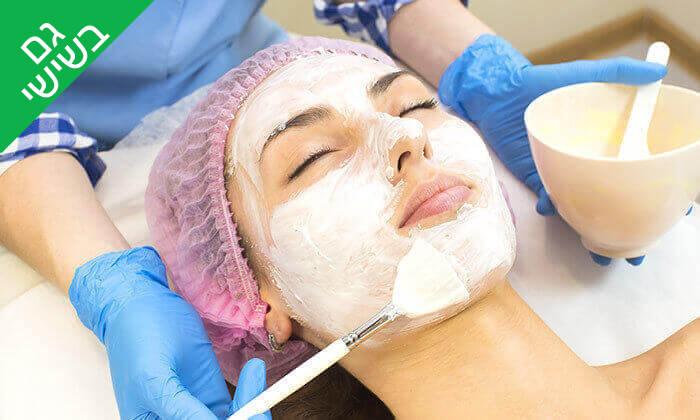 2 טיפולי פנים בקליניקת סודות הטיפוח, חולון