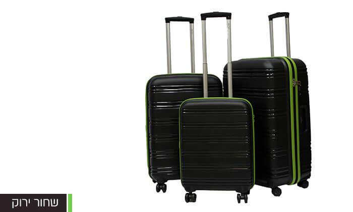 4  סט 3 מזוודות CALPAK