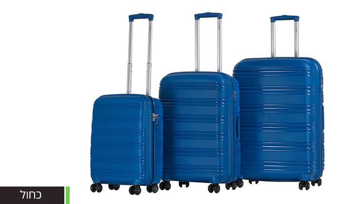 7  סט 3 מזוודות CALPAK