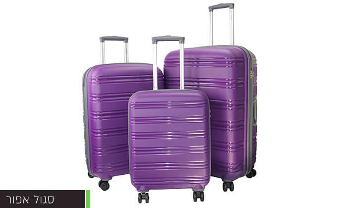 10  סט 3 מזוודות CALPAK