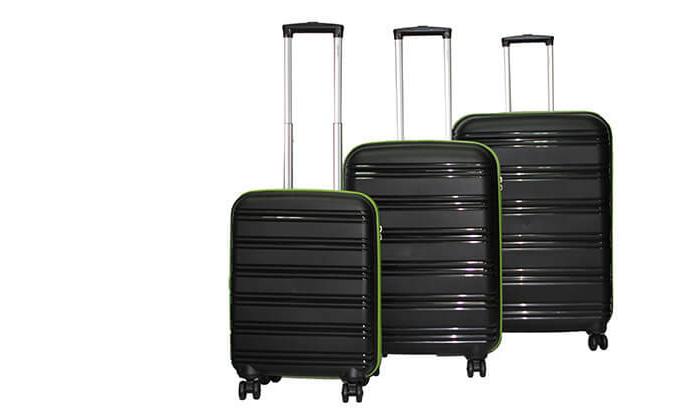 2  סט 3 מזוודות CALPAK