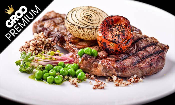 7 מסעדת לחם בשר הכשרה למהדרין בנמל תל אביב - ארוחת פרימיום זוגית
