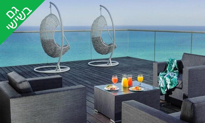 2 ארוחת בוקר בופה במלון Leonardo suite, בת ים