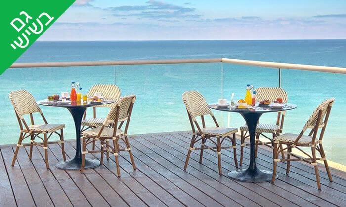 7 ארוחת בוקר בופה במלון Leonardo suite, בת ים