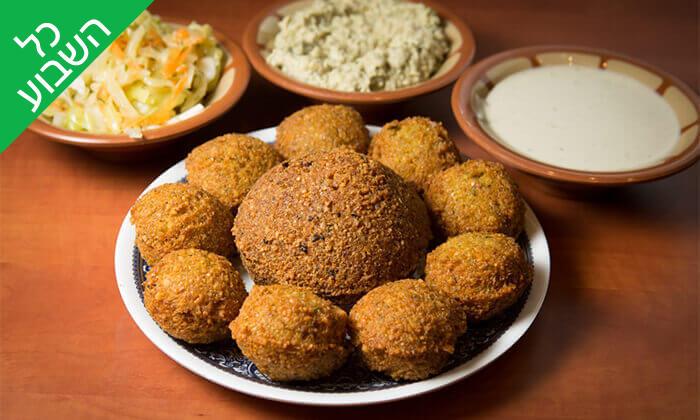3 ארוחה זוגית במסעדה הלבנונית אבו גוש, תל אביב