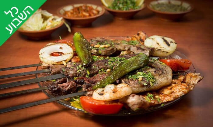 4 ארוחה זוגית במסעדה הלבנונית אבו גוש, תל אביב