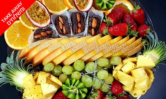 3 יופי של פרי - מגשי פירות מעוצבים וכשרים ב-Take Away, תל אביב