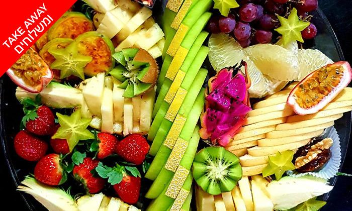 4 יופי של פרי - מגשי פירות מעוצבים וכשרים ב-Take Away, תל אביב