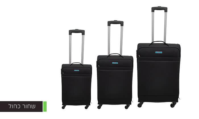 3 שלוש מזוודות בד