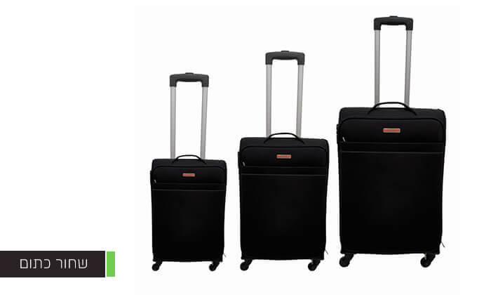 4 שלוש מזוודות בד