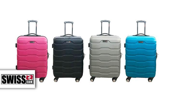 2 זוג מזוודות SWISS