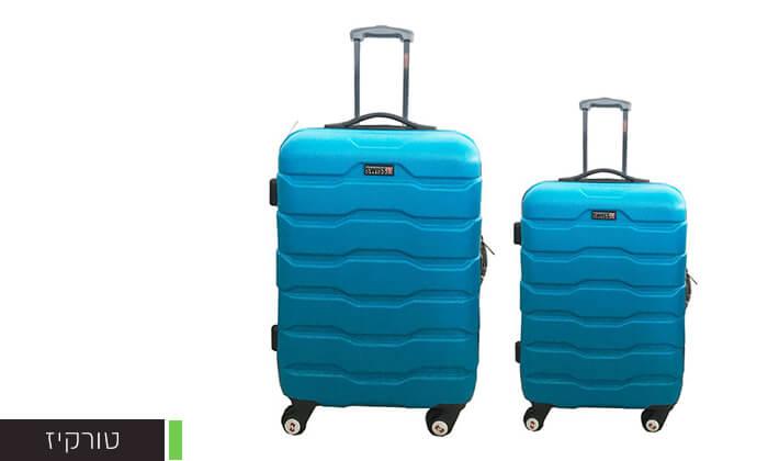 5 זוג מזוודות SWISS