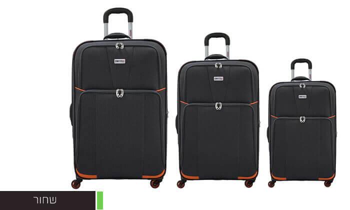 4 סט 3 מזוודות בדSWISS
