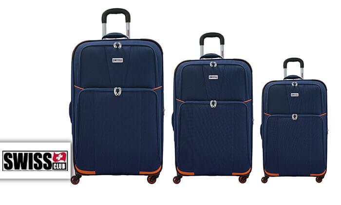2 סט 3 מזוודות בדSWISS